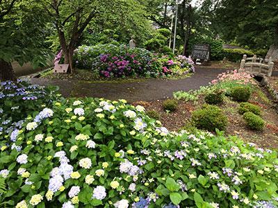 永昌寺の庭