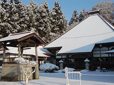 永昌寺の冬