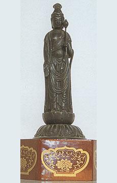 永昌寺の寺宝/聖観音像(高村光雲作)