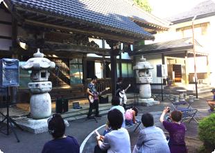 永昌寺のイベント風景